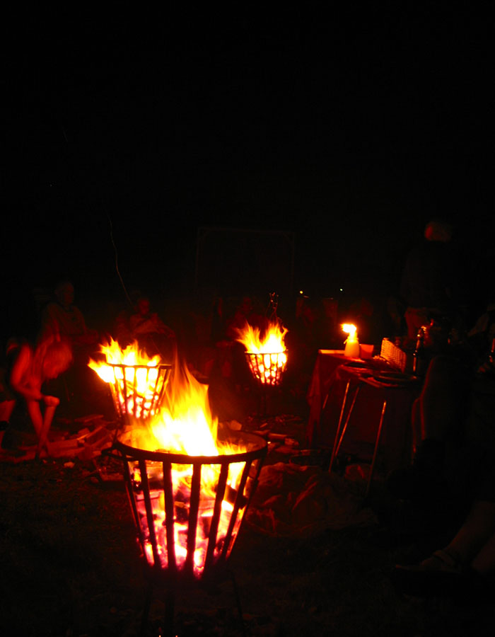 buiten feest, vuurkorf feest, barbeque feest, bijzonder, festival feest, delft, rotterdam, den haag